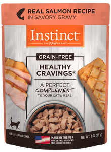 Nature's Variety Instinct Healthy Cravings Real Salmon Recipe Cat Food Mixer/Topper