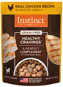 Nature's Variety Instinct Healthy Cravings Real Chicken Recipe Dog Food Meal Mixer/Topper