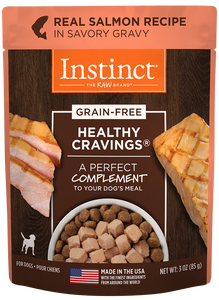 Nature's Variety Instinct Healthy Cravings Real Salmon Recipe Dog Food Meal Mixer/Topper