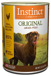 Nature's Variety Instinct Original Real Chicken Recipe Canned Dog Food