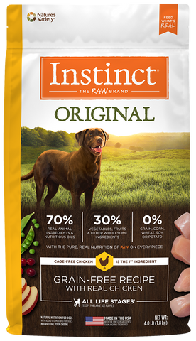 Nature's Variety Instinct Original Grain-Free Recipe with Real Chicken Dry Dog Food