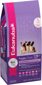Eukanuba Puppy Small Breed Dry Dog Food, 16-lb at NJPetSupply.com