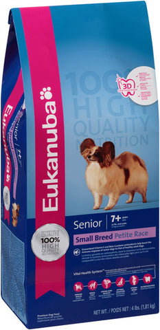 Eukanuba Senior Small Breed Dry Dog Food, 15-lb at NJPetSupply.com