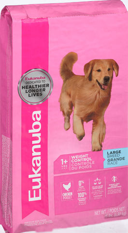 Eukanuba Adult Large Breed Weight Control Dry Dog Food, 15-lb at NJPetSupply.com