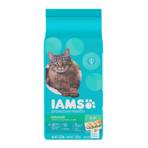 Iams Proactive Health Indoor Weight & Hairball Care Dry Cat Food at NJPetSupply.com