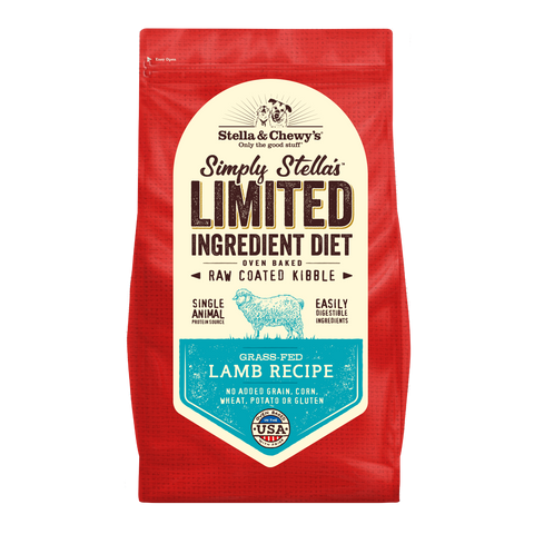 Stella & Chewy's Simply Stella's Limited Ingredient Diet Grass-Fed Lamb Recipe Dry Dog Food