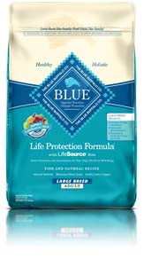 Blue Buffalo Life Protection Formula Adult Large Breed Fish & Oatmeal Dry Dog Food at NJPetSupply.com