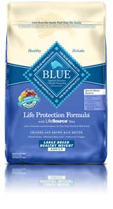 Blue Buffalo Life Protection Formula Adult Large Breed Healthy Weight Dry Dog Food at NJPetSupply.com