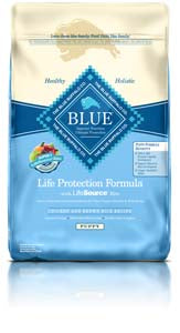 Blue Buffalo Life Protection Formula Puppy Chicken & Brown Rice Dry Dog Food at NJPetSupply.com