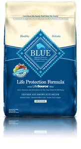 Blue Buffalo Life Protection Formula Senior Chicken & Brown Rice Dry Dog Food at NJPetSupply.com