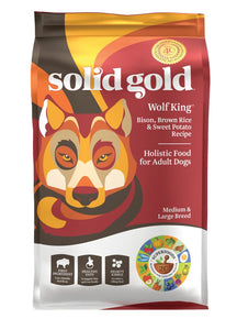 Solid Gold Wolf King Bison Dry Dog Food, 24-lb at NJPetSupply.com