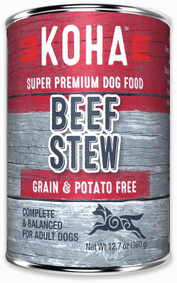 KOHA M.I. Grain-Free Beef Stew Wet Dog Food at NJPetSupply.com