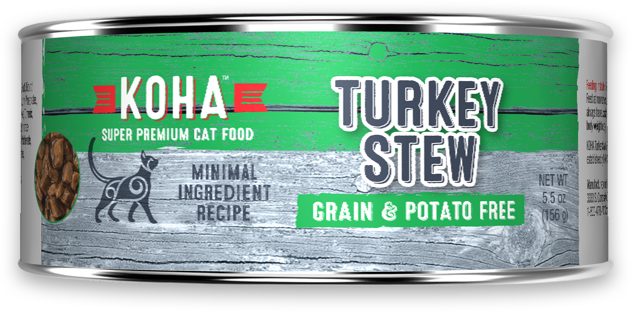 KOHA M.I. Grain-Free Turkey Stew Wet Cat Food at NJPetSupply.com