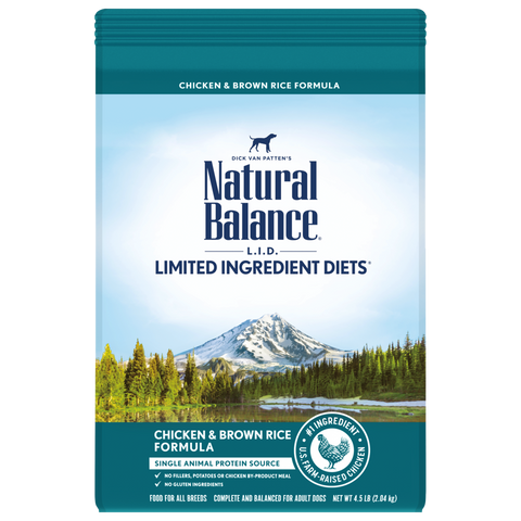 Natural Balance LID Chicken & Brown Rice Dry Dog Food
