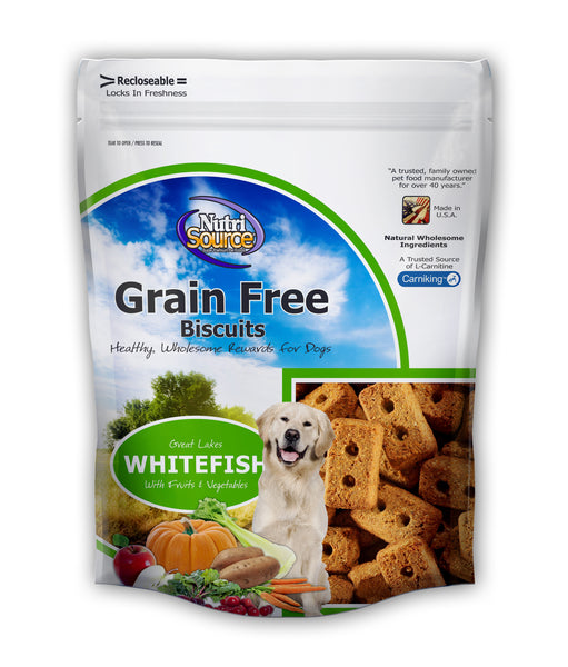 Nutrisource Grain Free 14oz. Dog Biscuit at NJPetSupply.com