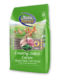 Nutrisource Grain Free Country Select Dry Cat Food 15-lb Bag at NJPetSupply.com