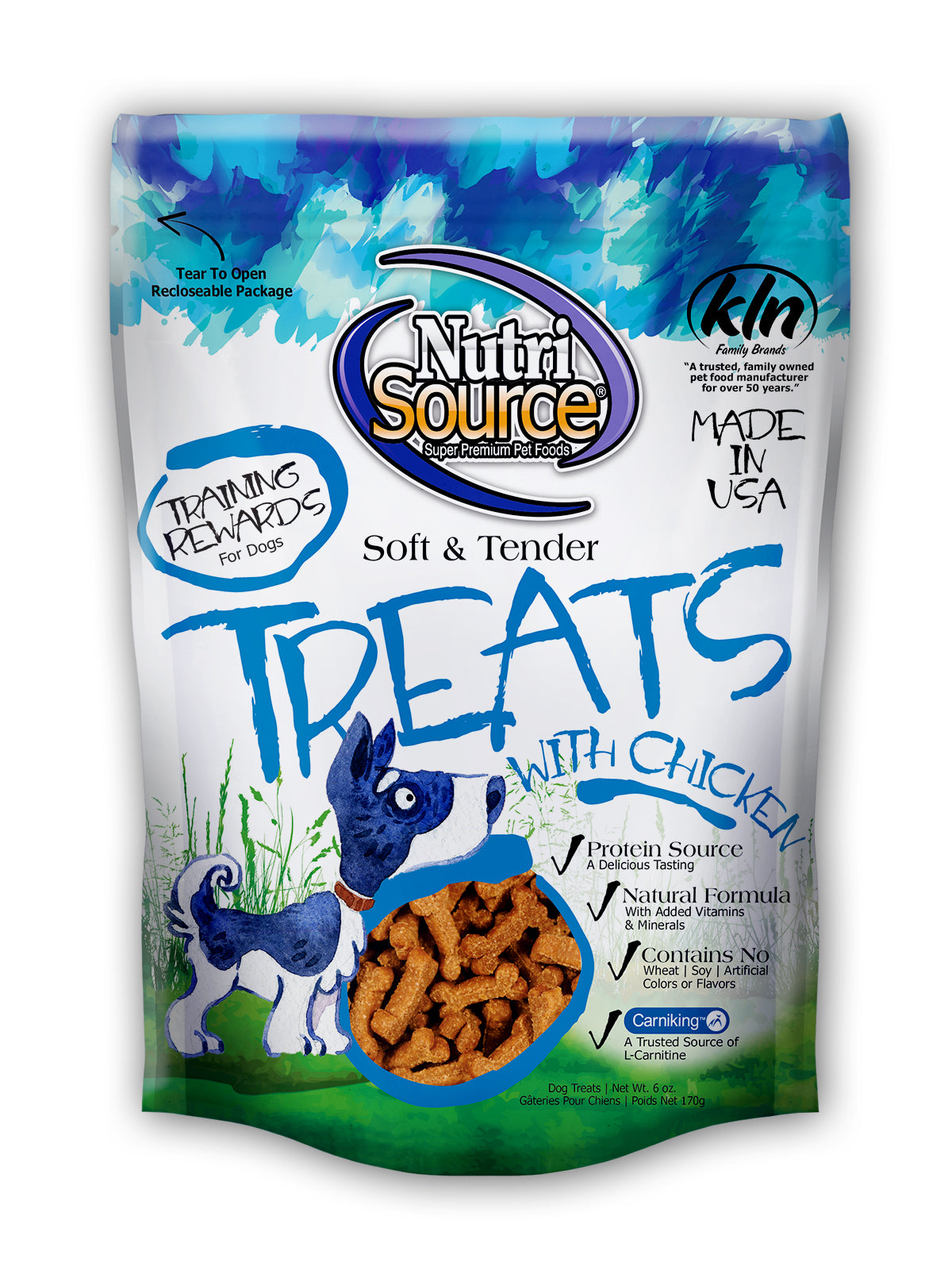 Nutrisource Soft and Tender 6oz Dog Treats at NJPetSupply.com
