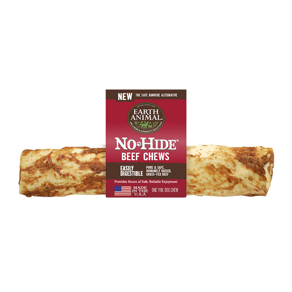 Earth Animal No-Hide Beef Chew Dog Treat - NJ Pet Supply