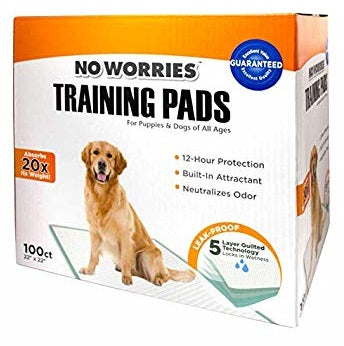 Four Paws No Worries Training Pads at NJPetSupply.com