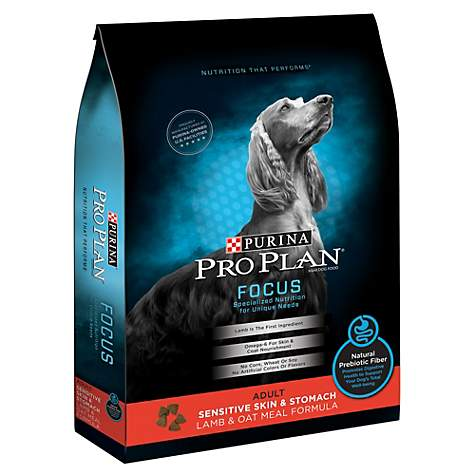 Pro Plan Focus Adult Sensitive Skin & Stomach Lamb & Oatmeal Dry Dog Food *SO* at NJPetSupply.com