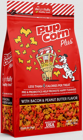 Pupcorn Bacon & Peanut Butter