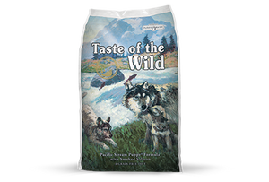 Taste of the Wild Pacific Stream Puppy Recipe with Smoked Salmon Dry Dog Food