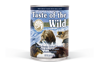 Taste of the Wild Pacific Stream Formula with Salmon in Gravy Wet Dog Food