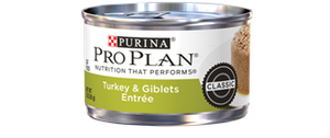 Pro Plan Adult Turkey & Giblet Canned Cat Food