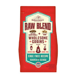 Stella & Chewy's Raw Blend Wholesome Grains Cage-Free Recipe with Pumpkin & Quinoa Dry Dog Food
