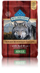 Blue Buffalo Blue Wilderness Rocky Mountain Recipe Red Meat at NJPetSupply.com