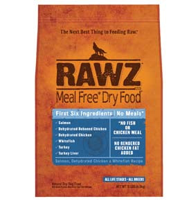 RAWZ Meal Free Salmon, Dehydrated Chicken, and Whitefish Dry Dog Food 3.5-lb at NJPetSupply.com