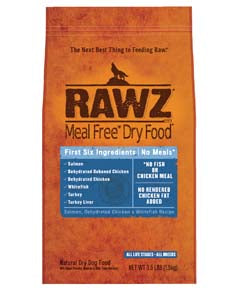 RAWZ Meal Free Salmon, Dehydrated Chicken, and Whitefish Dry Dog Food