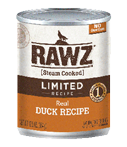 RAWZ Limited Ingredient Diet Duck Wet Dog Food, 12.5-oz Cans