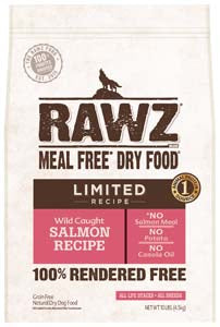 RAWZ Limited Ingredient Diet Salmon Dry Dog Food 3-lb at NJPetSupply.com
