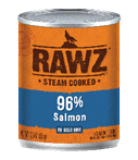 RAWZ 96% Meat Salmon Wet Dog Food at NJPetSupply.com