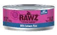 RAWZ 96% Meat Salmon Pate Wet Cat Food at NJPetSupply.com