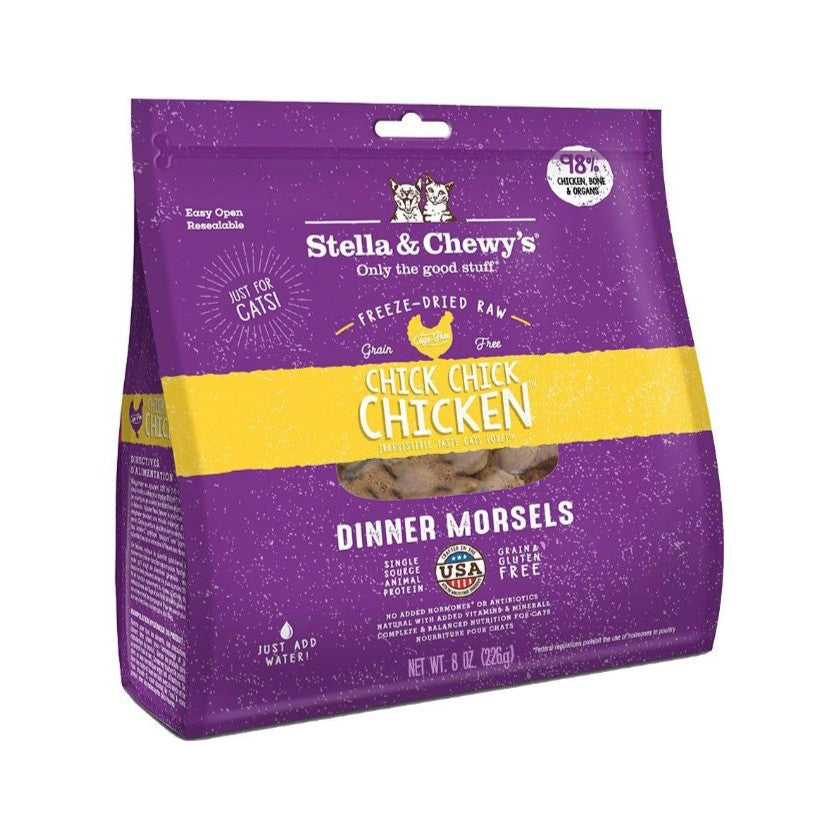 Stella & Chewy's Chick, Chick, Chicken Freeze Dried Cat Food