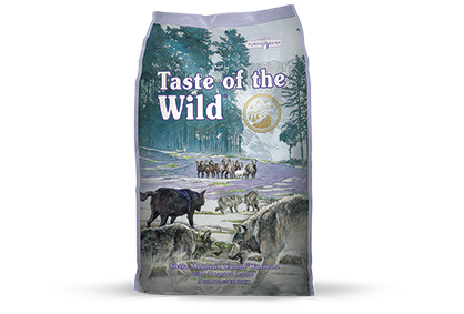 Taste of the Wild Sierra Mountain Recipe with Roasted Lamb Dry Dog Food