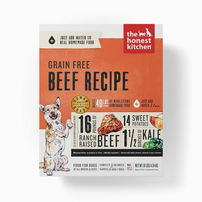 Honest Kitchen Grain Free Beef Dehydrated Dog Food