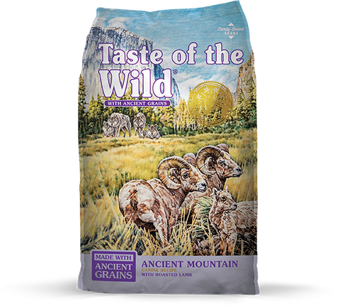 Taste of the Wild with Ancient Grains Ancient Mountain Recipe with Lamb Dry Dog Food