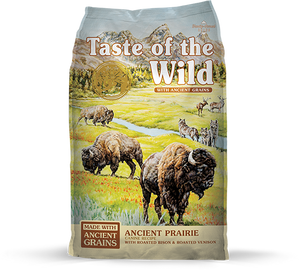 Taste of the Wild with Ancient Grains Ancient Prairie Recipe with Bison & Venison Dry Dog Food at NJPetSupply.com
