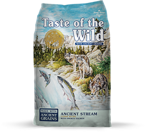 Taste of the Wild with Ancient Grains Ancient Stream Recipe with Salmon Dry Dog Food