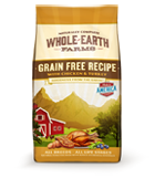 Whole Earth Farms Grain Free Chicken and Turkey Dry Dog Food at NJPetSupply.com