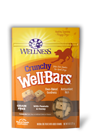 Wellness Wellbar Crunchy Peanuts & Honey Dog Treats
