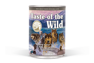 Taste of the Wild Wetlands Formula with Fowl in Gravy Wet Dog Food at NJPetSupply.com