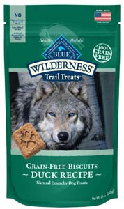 Blue Buffalo Wilderness Biscuits, Duck - NJ Pet Supply