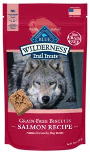 Blue Buffalo Wilderness Biscuits, Salmon - NJ Pet Supply