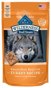 Blue Buffalo Wilderness Biscuits, Turkey at NJPetSupply.com