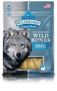 Blue Buffalo Dental Chews Wild Bones Large for Dogs over 50 lbs at NJPetSupply.com
