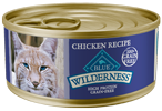 Blue Buffalo Wilderness Chicken Recipe Canned Cat Food - NJ Pet Supply